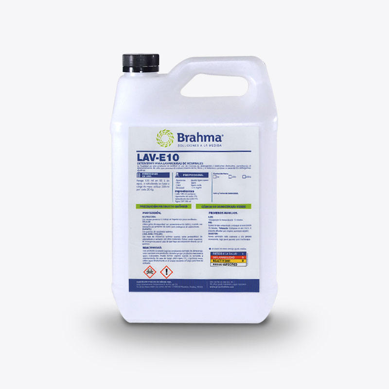 LAV E10 | Sustituto De Detergente y Cloro